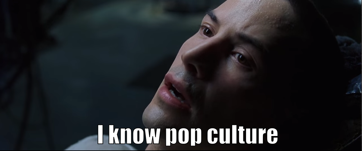 "Neo: ""I know pop culture"""